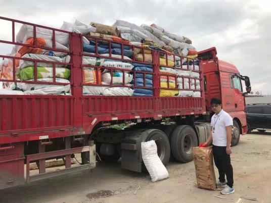 海南首次查获一次性不可降解塑料袋259万个